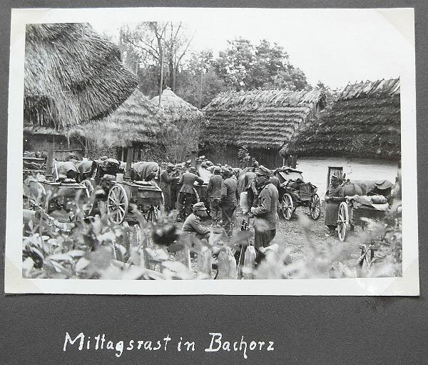 Polen Bachorz Rast der Gebirgsjäger GJR 100 Feldzug 1939